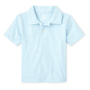 NWT Children's Place Cloud Blue Polo Shirt 18-24mo